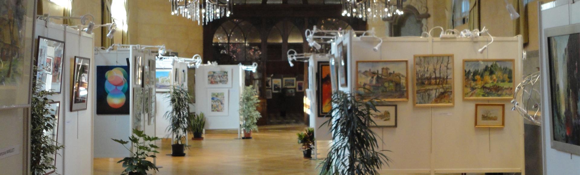 Exposition salles des Echevins